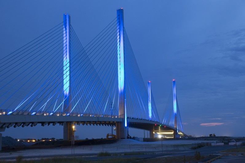 Charles W Cullen Bridge Over The Indian River Inlet