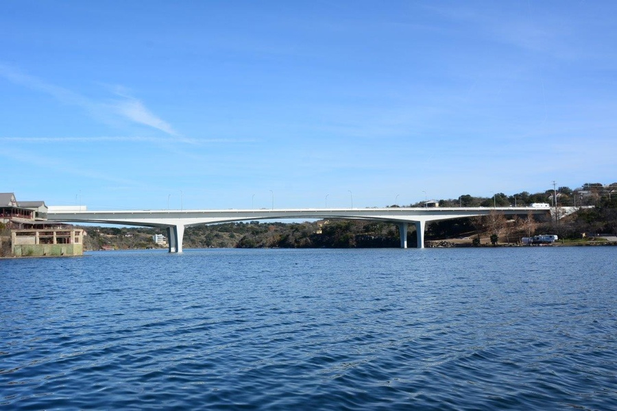 Us 281 Bridge Over The Colorado River Marble Falls